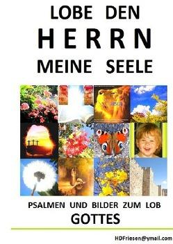 """""""Lobe den HERRN meine Seele"""" von Friesen,  H. D."""