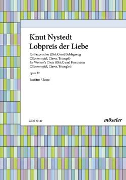 Lobpreis der Liebe von Nystedt,  Knut