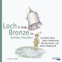 Loch in Erde, Bronze rin von Hildebrandt,  Dieter, Kessler,  Michael, Mann,  Dieter