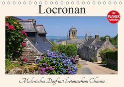 Locronan – Malerisches Dorf mit bretonischem Charme (Tischkalender 2018 DIN A5 quer) von LianeM,  k.A.