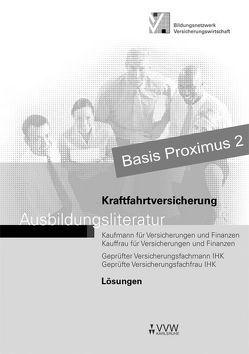 Lösungen-Kraftfahrtversicherung von Holthausen,  Hubert, Kallmeier,  Alexandra