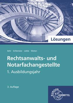 Lösungen zu 71859 von Behr,  Andreas, Grillemeier,  Sandra, Leible,  Klaus, Weiten,  Ellen