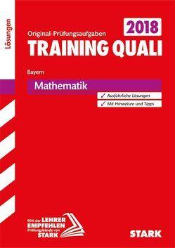 Lösungen zu Training Abschlussprüfung Quali Mittelschule 2019 – Mathematik 9. Klasse – Bayern