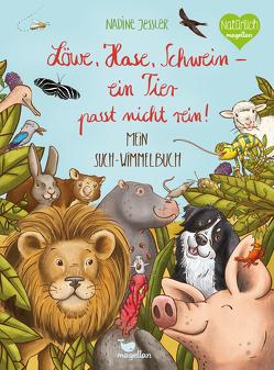 Löwe, Hase, Schwein – ein Tier passt nicht rein! von Jessler,  Nadine