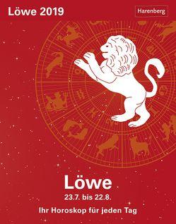 Löwe – Kalender 2019 von Harenberg, Satorius,  Robert