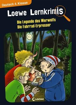 Loewe Lernkrimis – Die Legende des Werwolfs / Die Fahrrad-Erpresser von Neubauer,  Annette, Pfeiffer,  Peter
