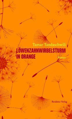 Löwenzahnwirbelsturm in Orange von Tandaschwili,  Tamar