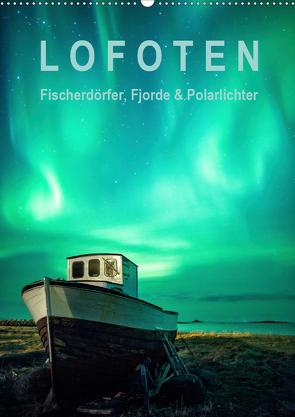 Lofoten: Fischerdörfer, Fjorde & Polarlichter (Wandkalender 2020 DIN A2 hoch) von Aust,  Gerhard
