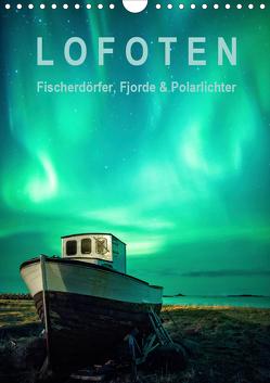 Lofoten: Fischerdörfer, Fjorde & Polarlichter (Wandkalender 2021 DIN A4 hoch) von Aust,  Gerhard