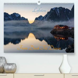 Lofoten – From Dusk Till Dawn (Premium, hochwertiger DIN A2 Wandkalender 2020, Kunstdruck in Hochglanz) von Schoen,  Ulrich
