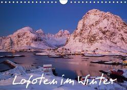 Lofoten im Winter (Wandkalender 2018 DIN A4 quer) von Buschardt,  Boris