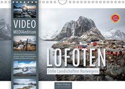 Lofoten – Stille Landschaften Norwegens (MEDIAedition) (Wandkalender 2019 DIN A4 quer) von Pinkoss,  Oliver