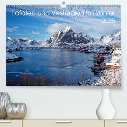 Lofoten und Vesterålen im Winter (Premium, hochwertiger DIN A2 Wandkalender 2020, Kunstdruck in Hochglanz) von Haardiek,  Clemens