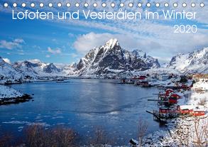 Lofoten und Vesterålen im Winter (Tischkalender 2020 DIN A5 quer) von Haardiek,  Clemens