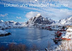 Lofoten und Vesterålen im Winter (Wandkalender 2020 DIN A2 quer) von Haardiek,  Clemens