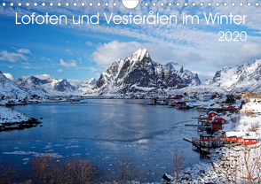 Lofoten und Vesterålen im Winter (Wandkalender 2020 DIN A4 quer) von Haardiek,  Clemens