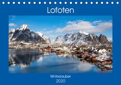Lofoten – Winterzauber (Tischkalender 2020 DIN A5 quer) von Rusch,  Winfried
