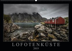 Lofotenküste (Wandkalender 2019 DIN A2 quer) von Worm,  Sebastian