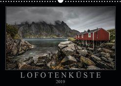Lofotenküste (Wandkalender 2019 DIN A3 quer) von Worm,  Sebastian