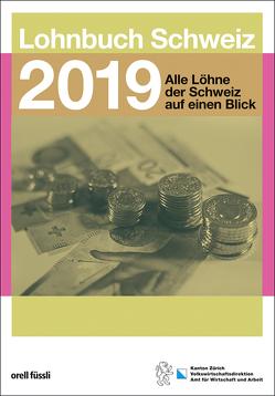 Lohnbuch Schweiz 2019 von Jung,  Jean-Marc