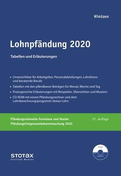 Lohnpfändung 2020 von Hintzen,  Udo