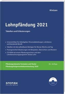Lohnpfändung 2021 von Hintzen,  Udo