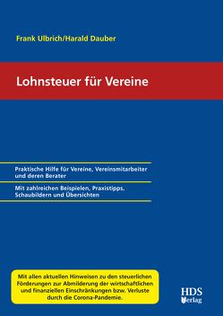 Lohnsteuer für Vereine von Dauber,  Harald, Ulbrich,  Frank