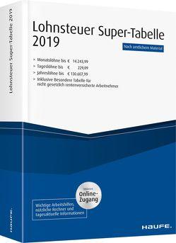 Lohnsteuer-Supertabelle 2019 plus Onlinezugang