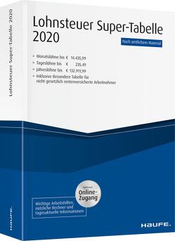 Lohnsteuer-Supertabelle 2020 plus Onlinezugang
