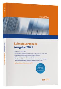 Lohnsteuertabelle 2021 Monat/Tag