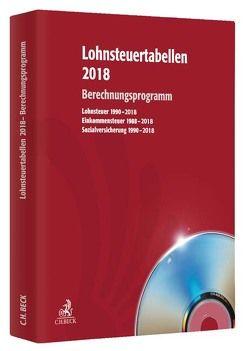 Lohnsteuertabellen 2018 CD-ROM