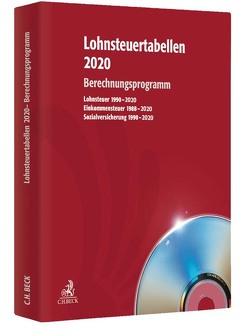 Lohnsteuertabellen 2020 CD-ROM