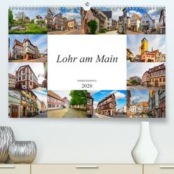 Lohr am Main Impressionen (Premium, hochwertiger DIN A2 Wandkalender 2020, Kunstdruck in Hochglanz) von Meutzner,  Dirk