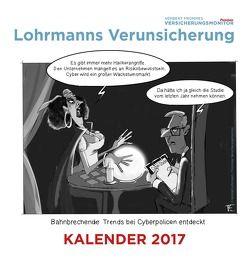 Lohrmanns Verunsicherung: Der Tischkalender 2017 von Fromme,  Herbert, Lohrmann,  Konrad