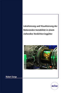Lokalisierung und Visualisierung der Rotierenden Instabilität in einem stehenden Verdichterringgitter von Sorge,  Robert
