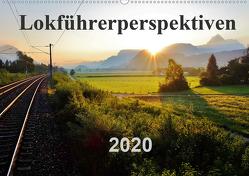 Lokführerperspektiven (Wandkalender 2020 DIN A2 quer) von Pan,  Jules