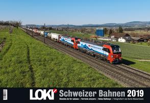 LOKI-Kalender Schweizer Bahnen 2019