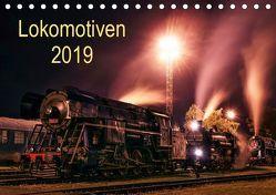 Lokomotiven 2019 (Tischkalender 2019 DIN A5 quer) von Dzurjanik,  Martin