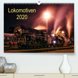 Lokomotiven 2020 (Premium, hochwertiger DIN A2 Wandkalender 2020, Kunstdruck in Hochglanz) von Dzurjanik,  Martin