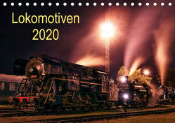 Lokomotiven 2020 (Tischkalender 2020 DIN A5 quer) von Dzurjanik,  Martin