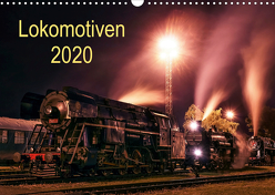 Lokomotiven 2020 (Wandkalender 2020 DIN A3 quer) von Dzurjanik,  Martin