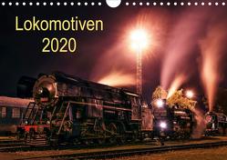 Lokomotiven 2020 (Wandkalender 2020 DIN A4 quer) von Dzurjanik,  Martin
