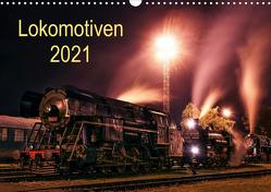 Lokomotiven 2021 (Wandkalender 2021 DIN A3 quer) von Dzurjanik,  Martin
