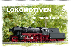 Lokomotiven en miniature (Wandkalender 2019 DIN A2 quer) von Huschka,  Klaus-Peter