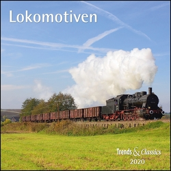 Lokomotiven Legendary Trains 2020 – Broschürenkalender – Wandkalender – mit herausnehmbarem Poster – Format 30 x 30 cm von DUMONT Kalenderverlag