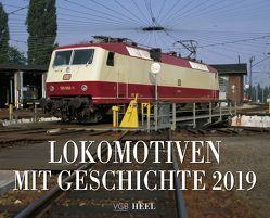 Lokomotiven mit Geschichte 2019 von VG Bahn