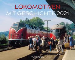 Lokomotiven mit Geschichte 2021 von VG Bahn
