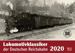 Lokomotivklassiker der Deutschen Reichsbahn 2020 von Meyer,  Günter