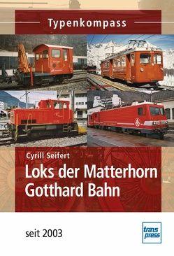 Loks der Matterhorn Gotthard Bahn von Seifert,  Cyrill