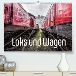 Loks und Wagen (Premium, hochwertiger DIN A2 Wandkalender 2020, Kunstdruck in Hochglanz) von 8,  Dock